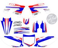 Kawasaki Kudla ISDE13 RWB Non Custom Series Graphic Kit