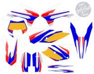 KTM Kudla ISDE13 Series RWB Non Custom Graphic Kit