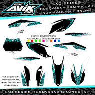 EXO Series Custom Husqvarna Graphic Kit