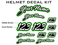 Helmet Decal Kit