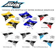 UFO Restyle Yamaha Retro Custom Shroud Graphics