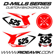 D-Mills Series Custom Backgrounds
