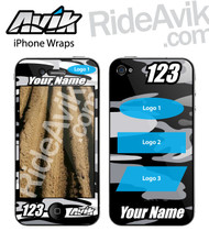 Camo iPhone wrap