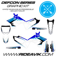Yamaha Defcon Series Custom Graphics Black/YamahaBlue/Process Blue Highlight