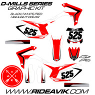 Honda D-Mills Series Graphic Kit