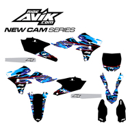 Yamaha New Cam Series Semi Custom Graphic Kit