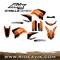 KTM D Mills Series Custom Dirt Bike Graphic Kit