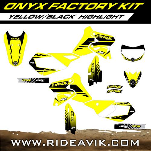 Suzuki Onyx Factory Custom Graphic Kit