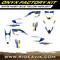 Husqvarna Onyx Factroy Series Semi Custom Graphic Kit