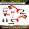 Honda Onyx Factory Semi Custom graphic kit black/red/white highlight