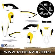 VX Series Custom Husqvarna Graphic Kit