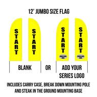 Race Start Flags