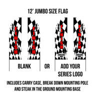Race Finish Flags