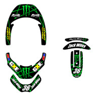VK Rise Leatt Brace Decal Kit