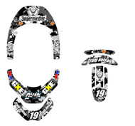 Digital Camo Leatt Brace Decal Kit