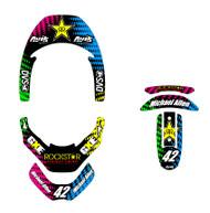 CMYG Series Leatt Brace Decal Kit