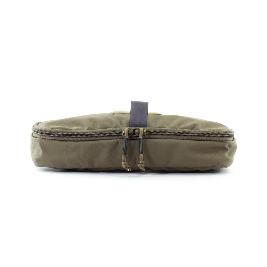 4x12 Zippered Med Pouch - Black