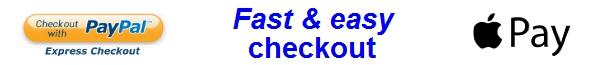 Fast checkout details