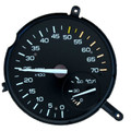 Rare Camaro 5.5K Red-line Tachometer & Oil Pressure Gauge