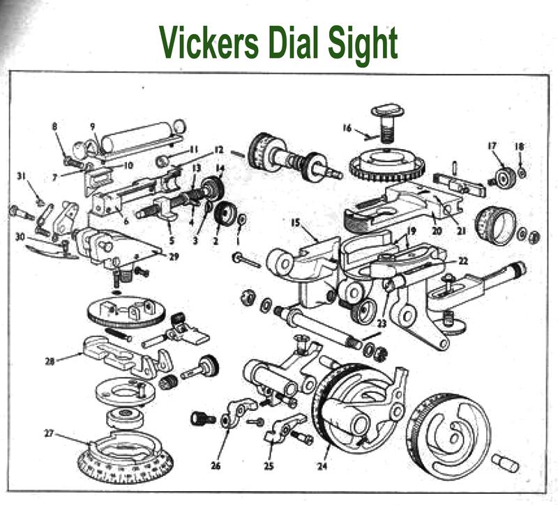 Dial Parts Vickers Dial Sight Parts