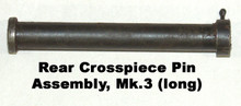 Rear Crosspiece Pin Assembly - for dial sight bracket