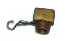 Vickers No.1 Brass Plug, Screw