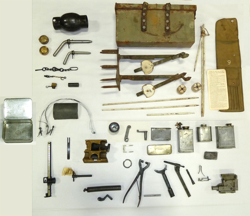 vickers machine gun parts kit
