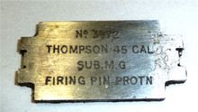 Thompson Firing Pin Protrusion Gauge