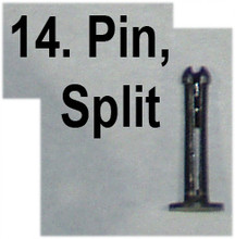 #14 Vickers Lock - Split Pin
