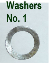 Vickers Lock Headspacing Washers, No. 1 .003 thickness