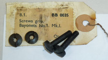 9, 10:  Bayonet No. 1 Grip Screws