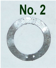 Vickers Lock Headspacing Washers No. 2 (.005 Thickness)
