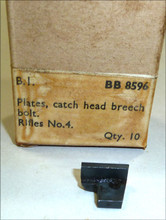 49 - Plate for CATCH, head, breech, bolt