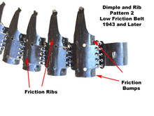 MG34/42 Belt Late War (low friction Pattern 2)