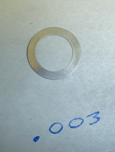 Vickers Lock Headspacing Washer (repro), No. 1 .003 thickness