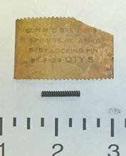 32: SPRING, body locking pin retainer