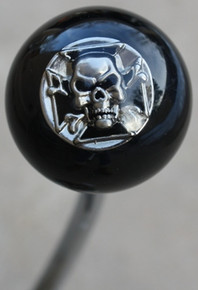 Iron Cross and Skull - Chrome Shift Knob