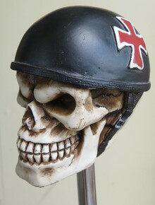 Iron Cross Resin Skull Shift Knob