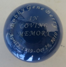 Custom Engraving on Solid Color Shift Knob