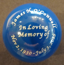 Custom Engraved on Solid Color Shift Knob
