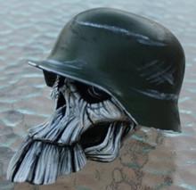 """Crash"" Buck Tooth Norm Army Skull Shift Knob"