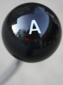 "Hot Rod ""A"" Scrabble Letter Shift Knob"