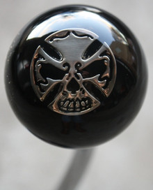 Iron Cross Skull Shift Knob