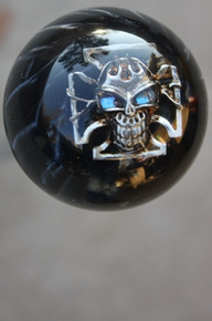 Cool Black Pearl Iron Cross Shift Knob