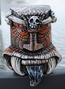 """Crash"" Beatnik Tiki Shift Knob"