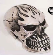 Ghost Rider Fine Pewter Shift Knob