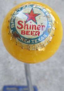Vintage Shiner Beer Cap Shift Knob