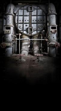 Boiler Room Backdrop