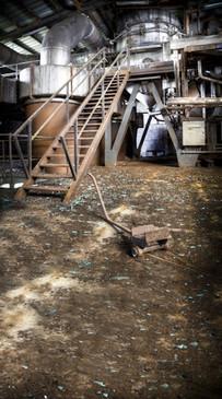 Abandoned Factory Backdrop