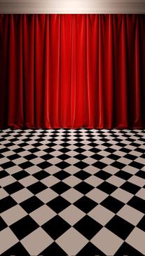 Curtain Call Backdrop
